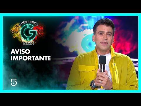 ⛔ Aviso importante: Esta semana no habrá competencia   #Guerreros2021   Canal 5