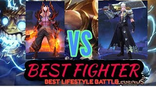 •MARTIS VS ALUCARD•|| BEST BATTLE OF THE BEST FIGHTER AND LIFESTYLE