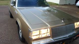 1987 BUICK REGAL TURBO T LIMITED