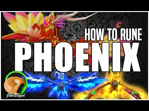 SUMMONERS WAR : How to Rune PHOENIX (Perna, Sigmarus, Teshar, Eludia, Jaara)