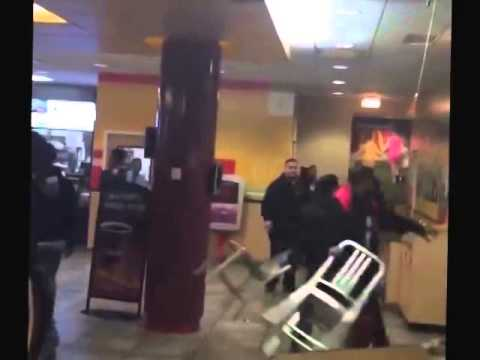 This is what happens when you eat at McDonald's in Bronx
