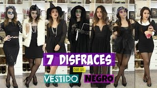 7 DISFRACES CON UN VESTIDO NEGRO | What The Chic