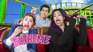 ROLLER COASTER CHALLENGE | POLINESIO CHALLENGE LOS POLINESIOS