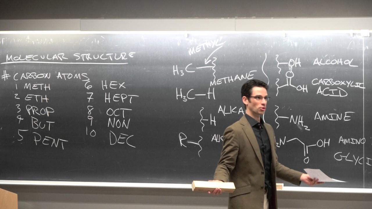 Ep5 organic chemistry, functional groups, micelles, electrostatics  UCSD,  NANO 101, Darren Lipomi