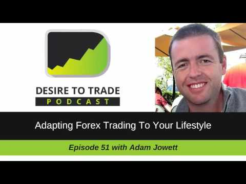 Desire To Trade Podcast 051: Adapting Forex Trading To Your Lifestyle - Adam Jowett