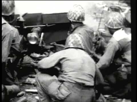 WW II: Battle of the Marshall Islands in 1944
