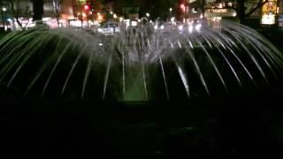 mizu水WATER<岡山>西川緑道公園(上流):噴水広場