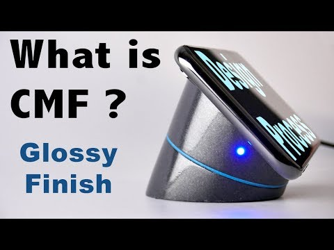 What is CMF? How to get a High gloss finish on a model or prototype