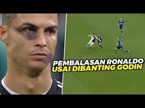 KETEMU LAGI‼️Teknik Tipuan Cristiano Ronaldo Yg Buat Bek Tua Inter Diego Godin Melongo Tak Berkutik