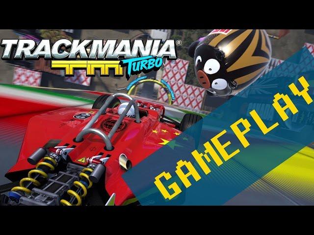 Trackmania Turbo - Gameplay nas Alturas