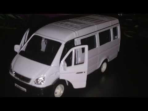 """Обзор масштабной модели ГАЗ-3221 """"ГАЗель"""""""