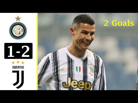 Inter Milan vs Juventus 1 2 Extended Highlights & All Goals 2021 HD . Ronaldo Brace