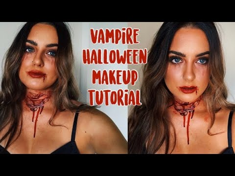 VAMPIRE HALLOWEEN MAKEUP LOOK thumbnail