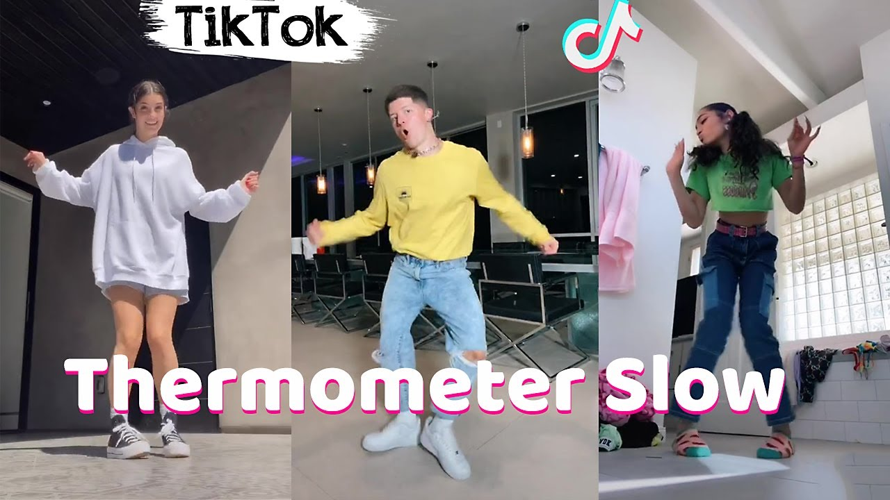 Not The Thermometer Slow TikTok Dance Challenge Compilation