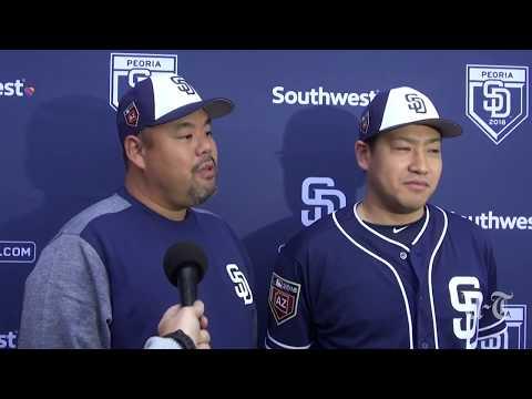 Kazuhisa Makita On Joining The Padres | San Diego Union-Tribune