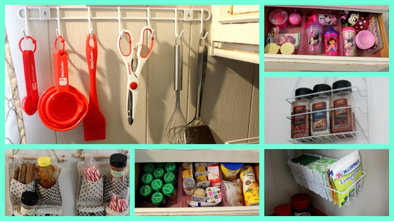 Easy Dollar Store Kitchen Organization Ideas  YouTube