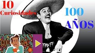 10 curiosidades a 100 años de PEDRO INFANTE.