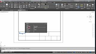 AutoCad how to create a new A4 template and a custom title block ?