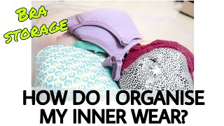 Lingerie organising ideas   How i store my bras and panties   Simple & budget friendly   Must watch