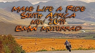 BMW Motorrad in South Africa Make Life a Ride