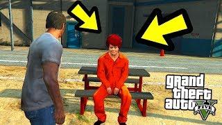 НАШЕЛ МАМУ ТРЕВОРА В ТЮРЬМЕ В GTA 5??