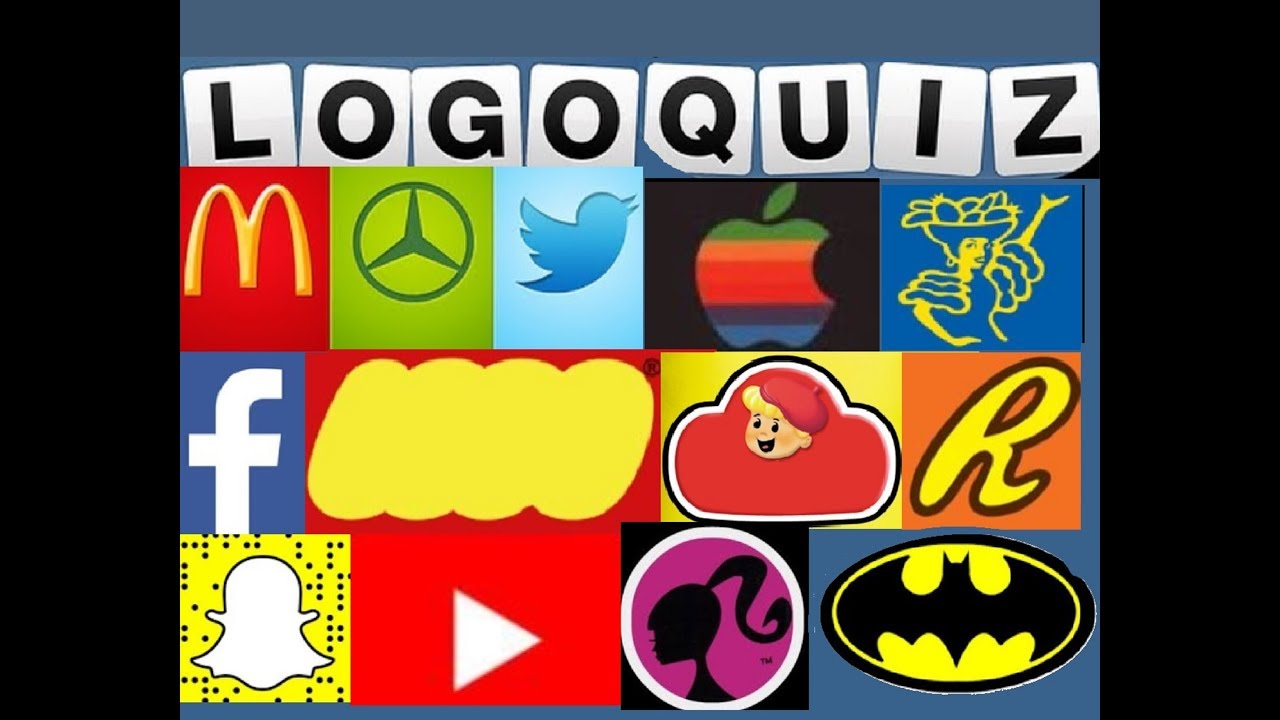 Logo Quiz! Guess the Logo! Fun For Kids + Adults! Test your Skills!