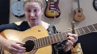 "Parents! Learn to play ""You Are My Sunshine"" for/with your Kids! Simple & easy!"