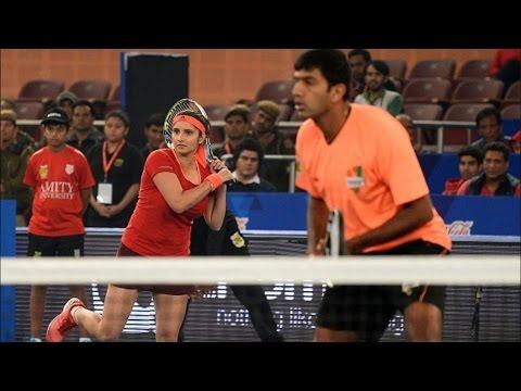 IPTL 2015 | Indian Aces Beat Japan Warriors | Sania Mirza & Rohan Bopanna Star