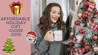 HOLIDAY GIFT GUIDE 2018   AFFORDABLE GIFTS & EASY GIFT IDEAS