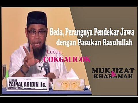 Ceramah Lucu  Ustadz Zainal Abidin Lc COKGALICOK perang