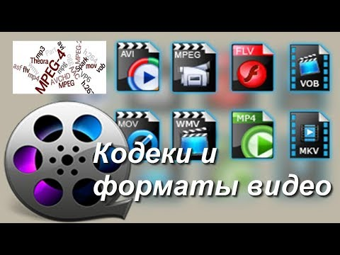 Кодеки и форматы видео, доступно о сложном начинающему монтажеру