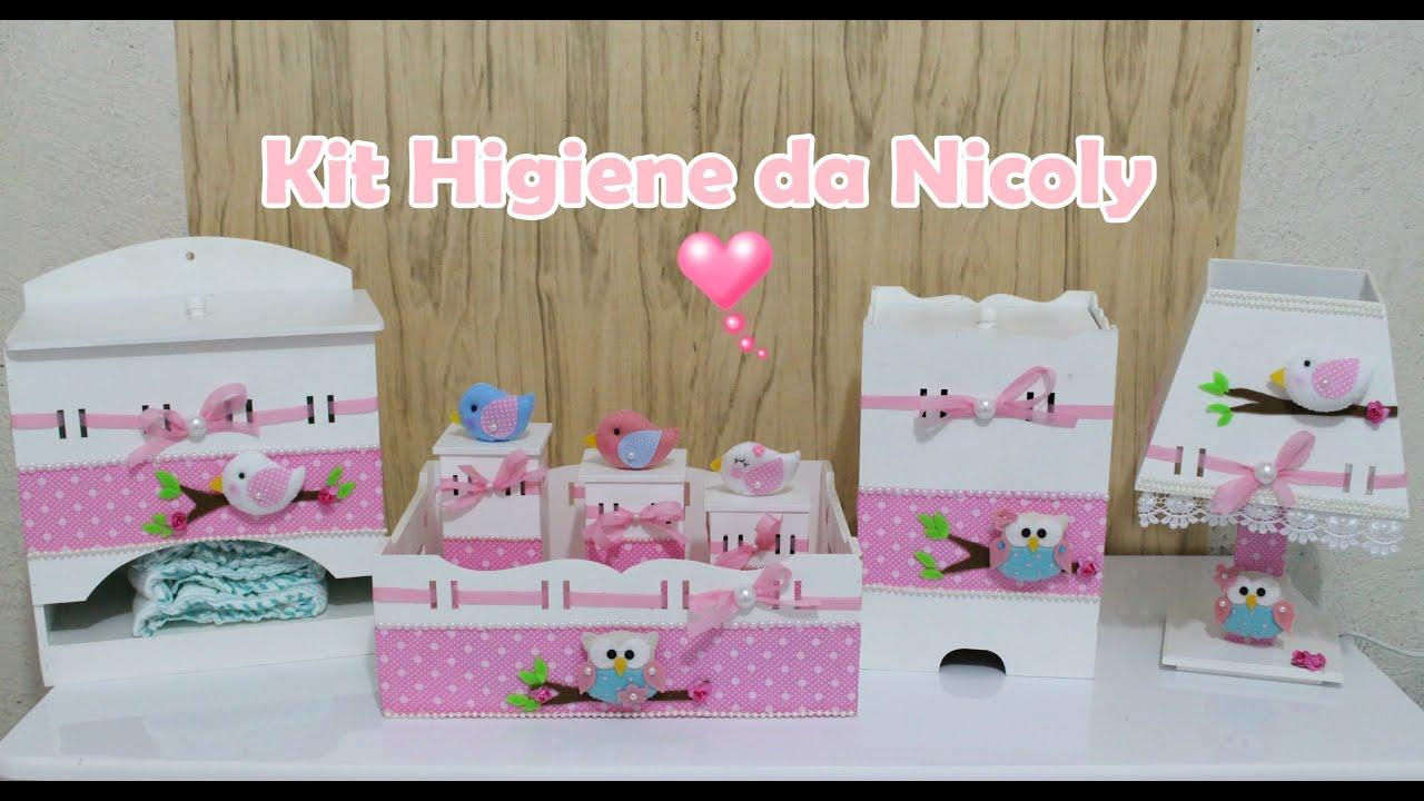 875d2e17b Kit Higiene da Nicoly - Passo a passo - YouTube