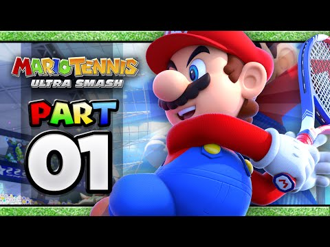 Download Youtube: Mario Tennis: Ultra Smash - Part 01 | Classic Singles (4-player)