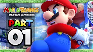 Mario Tennis: Ultra Smash - Part 01 | Classic Tennis (4-player)