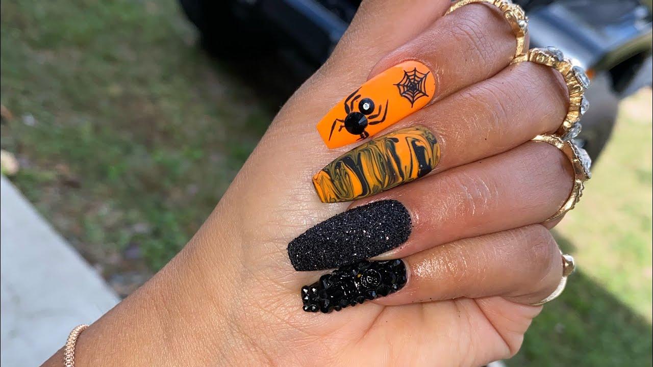 Halloween PressOn Nails