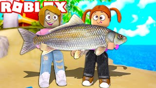Roblox I Caught The Biggest Fish Ever!