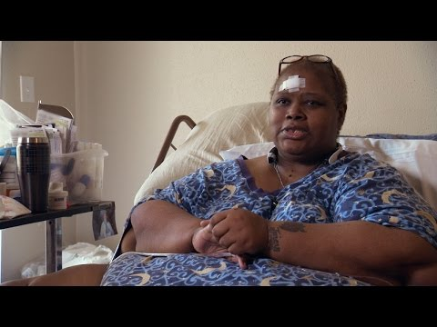 Stuck In Bed, Teretha Is Determined To Continue Losing Weight