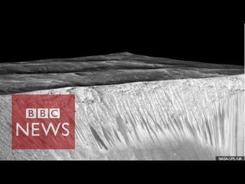 Liquid Water Has Been Found On Mars Says Nasa Bbc News