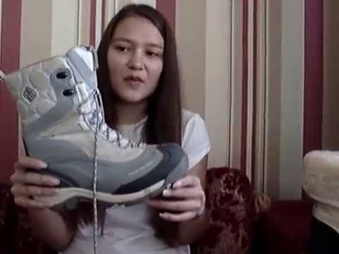 Columbia WP утепленные зимние ботинки* 40eur 6uk 250мм - YouTube
