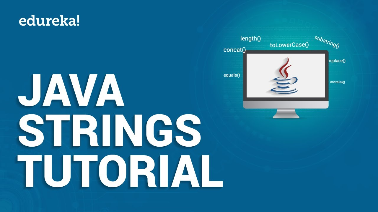 Java Strings Tutorial | String Manipulation in Java | Java