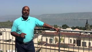 Farewell to Israel from the Sea of Galilee