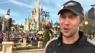 Super Bowl 2018 MVP Philadelphia Eagles Nick Foles visits Disney World