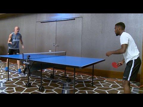 Lausanne #13 : le défi ping-pong Raggi - Lemar ! - AS MONACO