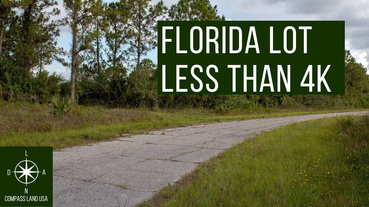 Sold by Compass Land USA - Florida Lot Less Than 4K