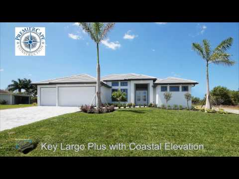 Key Largo Plus with Coastal Elevation by Premier Cape Construction, Inc.