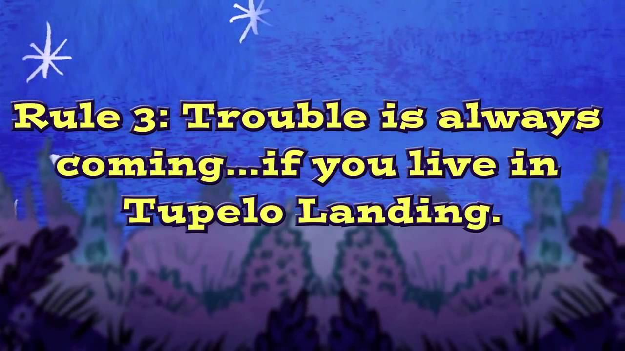 The Ghosts of Tupelo Landing book trailer - YouTube