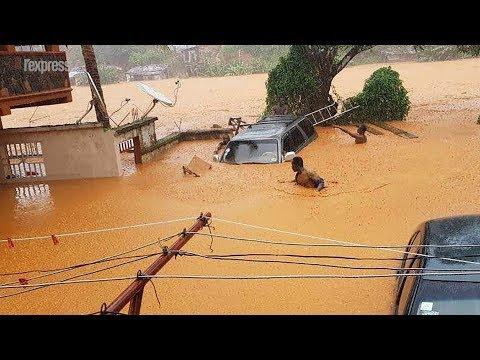 Sierra Leone: 312 morts dans des coulées de boue à Freetown