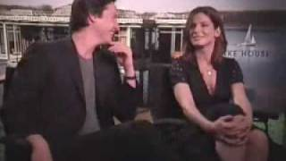 Sandra Bullock & Keanu Reeves about making a movie