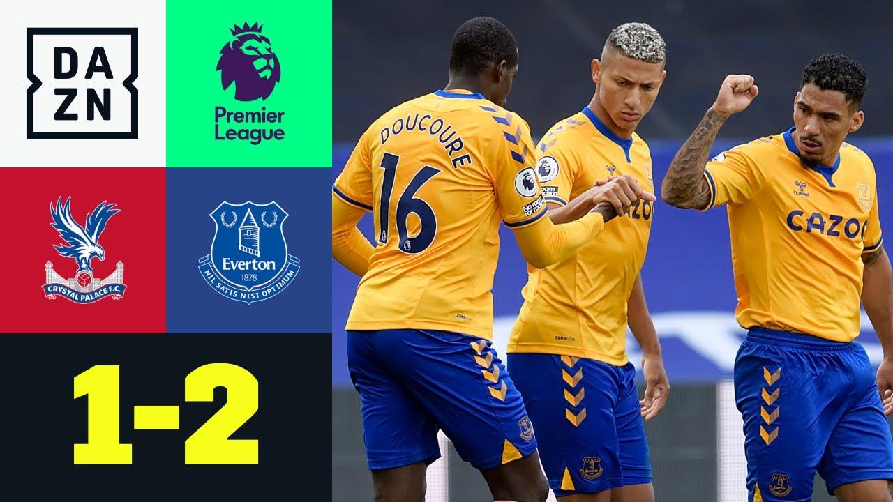 Crystal Palace vs Everton (1-2) | Resumen y goles | Highlights Premier League