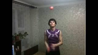 Обучение жонглированию (КРУГ(shower))
